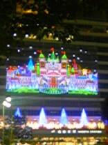 名古屋駅のイルミ