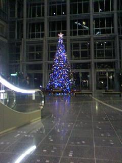 クリスマスツリーとカタール戦