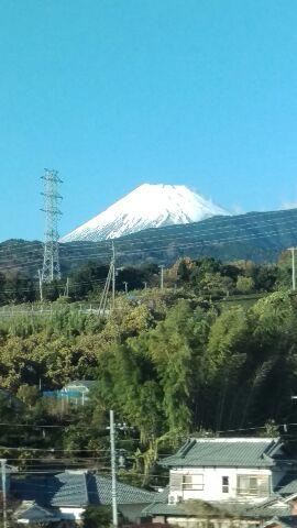 富士山通過しました!